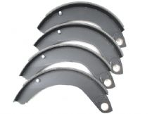 Front brake shoe set, until February 1962